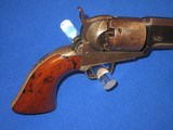A VERY EARLY AND DESIRABLE CIVIL WAR PERCUSSION COLTMODEL 1851 NAVY REVOLVER IN EXCELLENT CONDITION AND MADE IN 1852! - 6 of 17