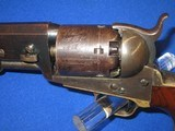 A VERY EARLY AND DESIRABLE CIVIL WAR PERCUSSION COLTMODEL 1851 NAVY REVOLVER IN EXCELLENT CONDITION AND MADE IN 1852! - 3 of 17