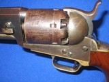A VERY EARLY AND DESIRABLE CIVIL WAR PERCUSSION COLTMODEL 1851 NAVY REVOLVER IN EXCELLENT CONDITION AND MADE IN 1852! - 16 of 17