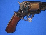 AN EARLY U.S. CIVIL WAR MILITARY ISSUED PERCUSSION STARR ARMS CO. MODEL 1858 D/A ARMY REVOLVER IN EXCELLENT CONDITION! - 8 of 18