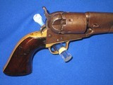 A CIVIL WAR COLT MODEL 1861 PERCUSSION ROUND BARREL NAVY REVOLVER IN VERY NICE AND ALL ORIGINAL UNTOUCHED CONDITION! - 6 of 16
