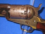 """AN EARLY U.S. CIVIL WAR MANHATTAN TYPE I PERCUSSION NAVY REVOLVER MADE IN 1862 IDENTIFIED TO """"BENJAMIN F. DOUGLAS OF THE U.S. ARMY 16TH INFANTRY& - 3 of 14"""