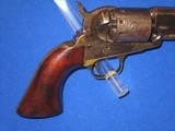 """AN EARLY U.S. CIVIL WAR MANHATTAN TYPE I PERCUSSION NAVY REVOLVER MADE IN 1862 IDENTIFIED TO """"BENJAMIN F. DOUGLAS OF THE U.S. ARMY 16TH INFANTRY& - 6 of 14"""