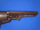 """AN EARLY U.S. CIVIL WAR MANHATTAN TYPE I PERCUSSION NAVY REVOLVER MADE IN 1862 IDENTIFIED TO """"BENJAMIN F. DOUGLAS OF THE U.S. ARMY 16TH INFANTRY& - 8 of 14"""