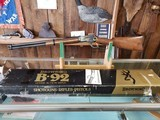 Browning 1878-1978 Centennial 92 44 Magnum Lever Action Rile NIB