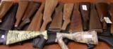 Assortment of Shotgun & Rifle Stocks & Forends- Synthetic & Wood - 1 of 3