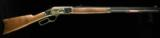 Winchester 1873 Sporting Rifle GD III 38/357 Case Hardened - 5 of 6