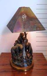 Danny Edwards Bronze Watching for Sockeye