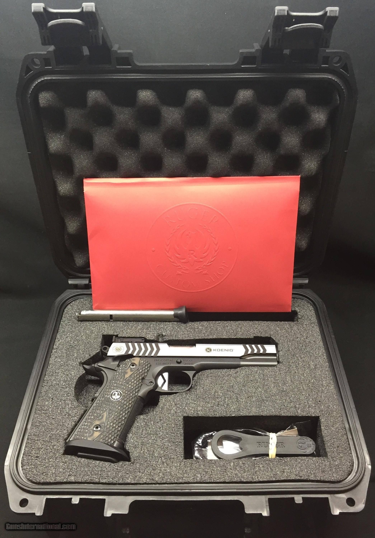 Ruger SR1911 Competition 9mm (Ruger Custom Shop-Doug Koenig Edition
