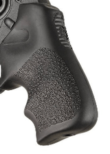 Ruger LCR/LCRx Finger Groove Rubber Tamer Cushion Grip Black