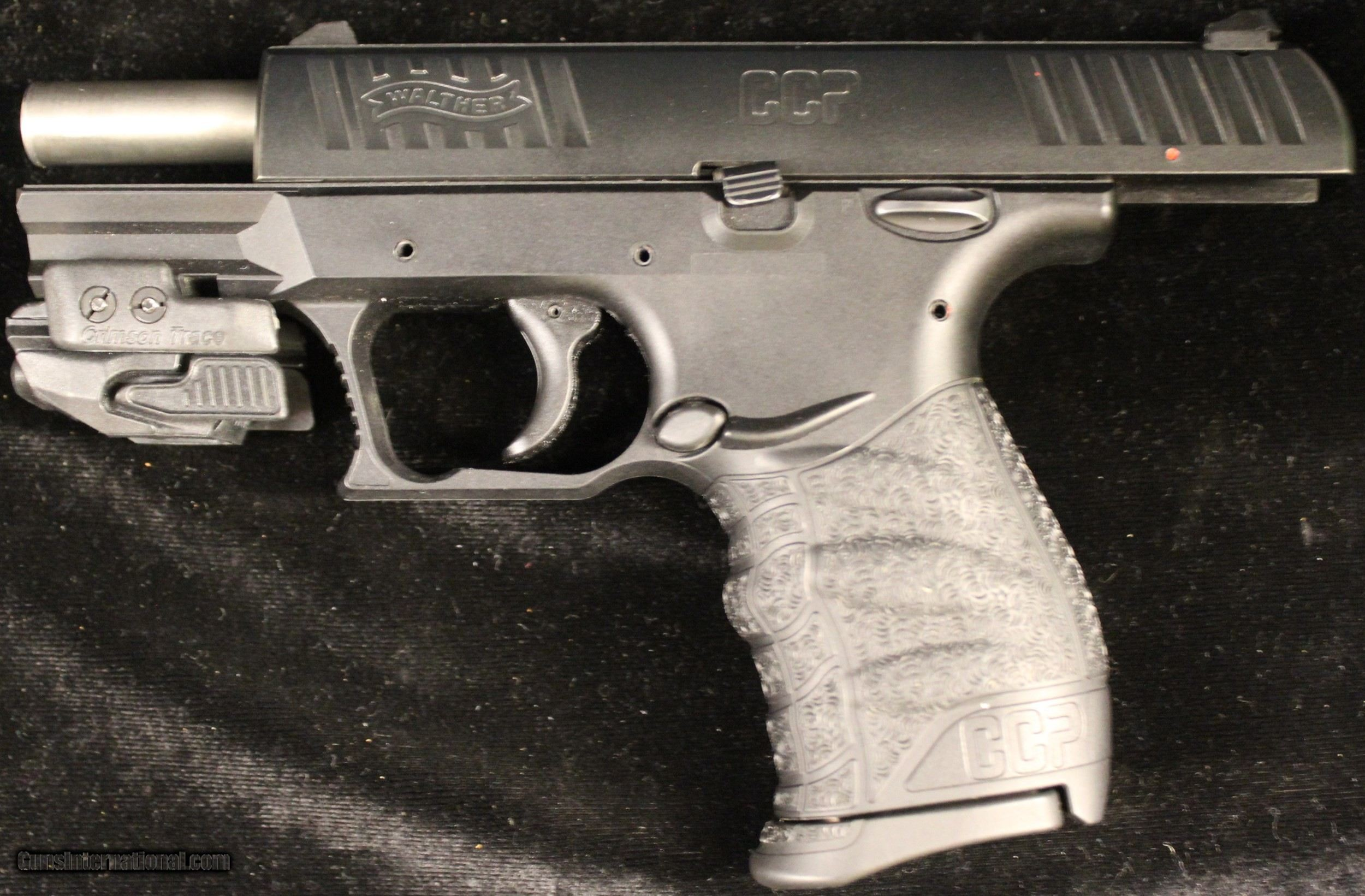 Walther CCP w/Crimson Trace Laser 9mm for sale