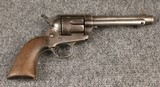 1888 colt single action army revolver.44/40