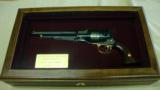 Uberti Model 1858 New Army Buffalo Bill's Wild West Tribute .44 BP. - 1 of 10