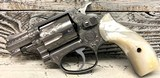 Smith & Wesson Model 60 in .38 Special - Factory Engraved Elvis Presley owned Gun