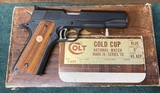 Colt Gold Cup National Match .45acp