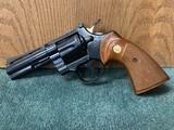 """Colt Python .357 mag. 4"""" barrel."""