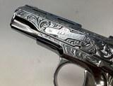 Llama 111A .380 Nickel Engraved Pearl Grips - 3 of 6
