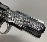 Llama 111A .380 Nickel Engraved Pearl Grips - 6 of 6