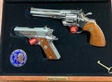 Colt 150th Anniversary Double Diamond Matched Two Gun Set