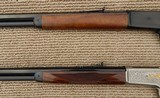 Browning 1886 Matched Pair Rifles, Grade I & High Grade, NIB – .45-70 - 9 of 15