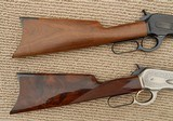Browning 1886 Matched Pair Rifles, Grade I & High Grade, NIB – .45-70 - 4 of 15