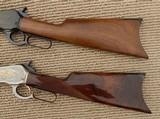 Browning 1886 Matched Pair Rifles, Grade I & High Grade, NIB – .45-70 - 8 of 15