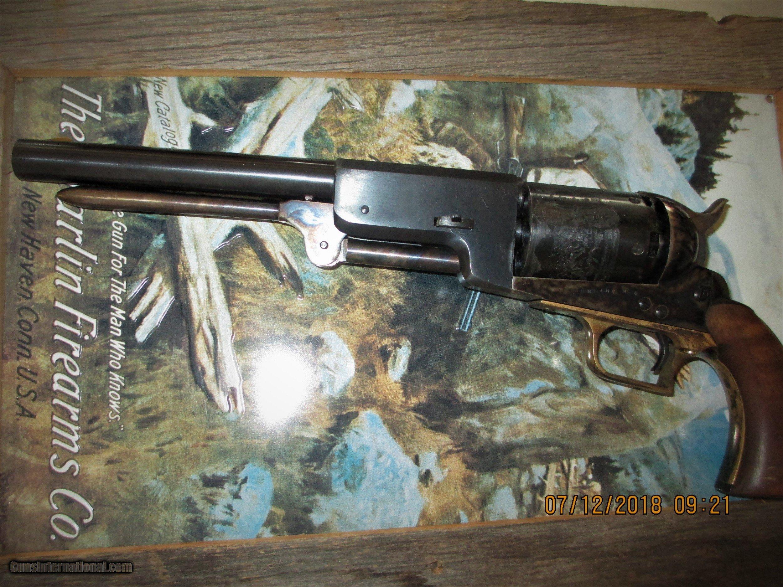 Uberti- Colt 44cal  WALKER UNFIRED-altered-w/ Howell 45 Colt