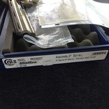 2000 Colt Custom Shop Era Anaconda 44 Magnum-Factory Bright Stainless Steel with Archive Letter-ANIB