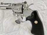 "1984 Colt Python .357 Magnum, 4"" barrel, Factory Bright Stainless Finish, Colt Letter, ANIB - 7 of 14"