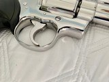 "1984 Colt Python .357 Magnum, 4"" barrel, Factory Bright Stainless Finish, Colt Letter, ANIB - 8 of 14"