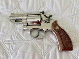 "Smith and Wesson Model 19-4, .357 Magnum, Pristine Nickel Finish, 2 1/2"" Barrel, Box and Papers, Lettered"