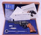 """smith and wesson model 27 2, 357 magnum, 6"""" barrel, blue, immaculate condition, full target, all original"""