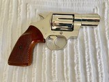 1974 Colt Detective Special Vintage 3rd Model D-Frame-Rare Nickel Finish-Immaculate Excellent Condition