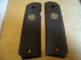 Original Thompson 1911 grips - 1 of 1