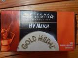 Federal HV Match .22Lr Brick of 500 - 1 of 2