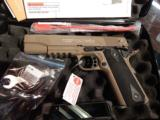 Colt /Walther 1911 .22 flat dark earth NIB - 1 of 1