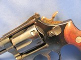 SMITH&WESSON DOUBLE ACTION 22LR 18-2DOUBLE ACTION REVOLVER WITH ADJUSTABLE SIGHTS - 8 of 20