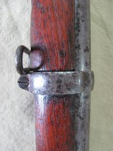 1864 SPRINGFIELD 58CAL SMOOTH BORE 3 BAND ANTIQUE RIFLE - 4 of 25