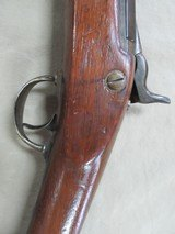 RARE FIND, US NAVY 1870 BY SPRINGFIELD WITH 1863 PARTS, TRAP DOOR 50/70 ANTIQUE RIFLE - 17 of 25