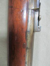 RARE FIND, US NAVY 1870 BY SPRINGFIELD WITH 1863 PARTS, TRAP DOOR 50/70 ANTIQUE RIFLE - 8 of 25