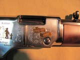 NEW IN BOX ONE-OF-ONE 2014 HENRY REPEATING ARMS LIMITED HERITAGE EDITION 22LR LEVER ACTION CARBINE - 4 of 14