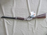 NEW HENRY SILVER EAGLE 2ND EDITION LEVER ACTION 22 LR RIFLE - 1 of 7