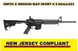 NEW S&W M&P SPORT II 5.56mm M4 AR-15 CARBINE NEW JERSEY COMPLIANT223 10203