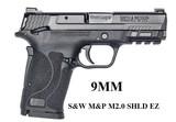 NEW S&W M&P TS 2.0 SHIELD EZ SEMI AUTO PISTOL SKU 12436