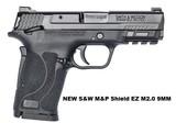 NEW S&W 9MM M&P TS 2.0 SHIELD EZ SEMI AUTO PISTOL SKU 12436