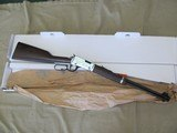 HENRY DUCKS UNLIMITED MODEL H001DU19 22LR LEVER ACTION CARBINE