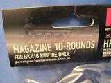 LOT OF (2) HK HECKLER & KOCH 22LR 10 RD MAGAZINES FOR HK 416 RIMFIRE ONLY - 3 of 3
