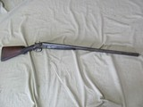 OLD BAKER GUN CO. MODEL 1897 12GA SIDE BY SIDE DAMASCUS SHOT SHOTGUN