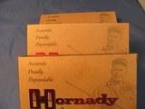THREE 20RND BOXES OF 8X56 HUNN MANN HORNADY 205GR SP AMMO - 2 of 3
