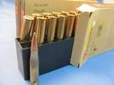 THREE 20RND BOXES OF 8X56 HUNN MANN HORNADY 205GR SP AMMO - 3 of 3